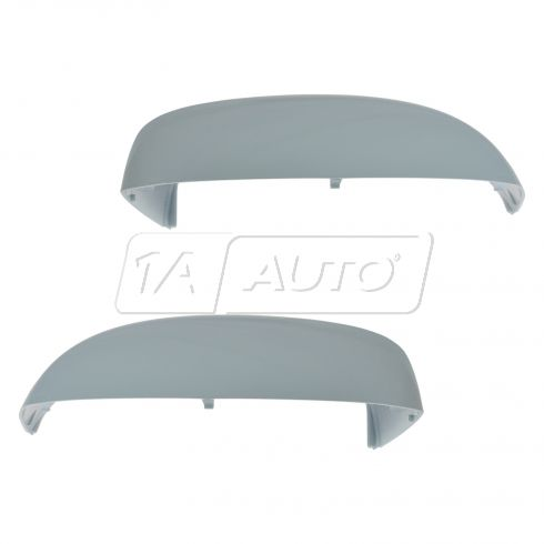 07-14 Chevy Silverado, GMC Sierra, FS SUV Painted White Non Towing Mirror Cap Cover PAIR (GM)