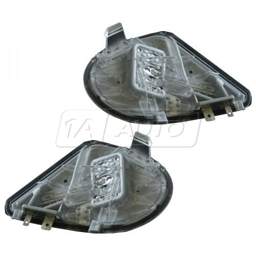 10 Dodge Ram 1500, 2500, 3500; 11-14 Ram 1500, 2500, 3500 Mirror Puddle Light Assy Pair (Mopar)