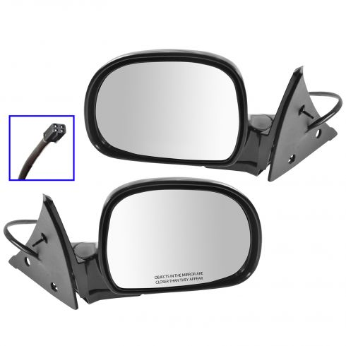 Chevy GMC S10 S15 Mirrors Power Pair