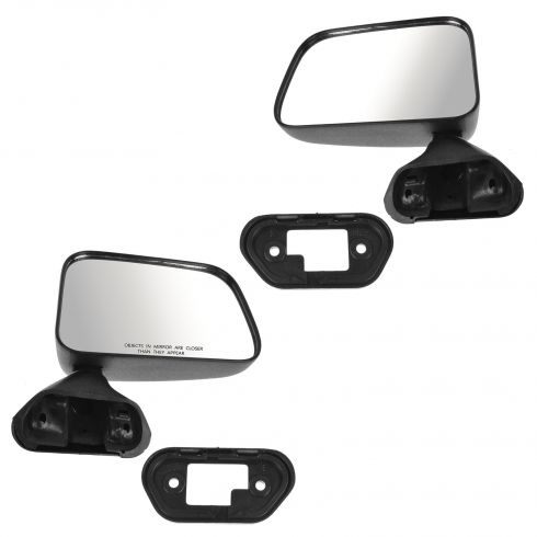 1987-95 Toyota Pickup Manual Mirror Door Mnt Pair
