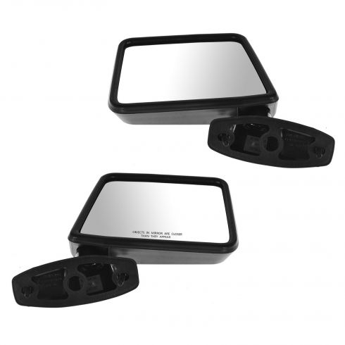 1983-92 Ranger 84-90 Bronco II Manual Mirror Pair