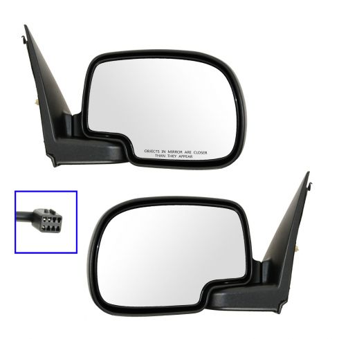 1999-02 Chevy Silverado Power Mirror Pair