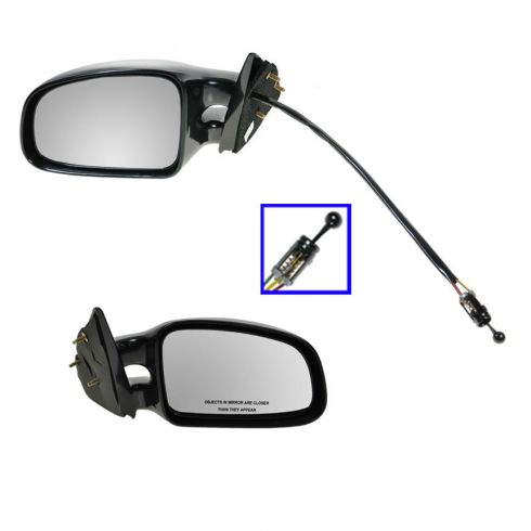SE Manual Mirror Pair Driver side is Manual Remote