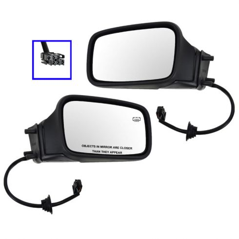 Heated Power Mirror Pair