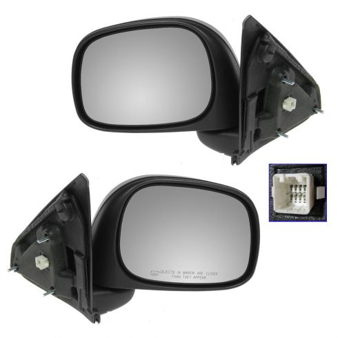 Dodge Pickup Heated Power Mirror Pair