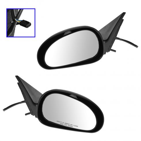 1999-04 Ford Mustang Power Mirror Pair