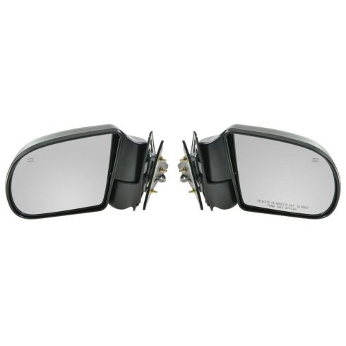 1999-04 S10 S15 Blazer Jimmy Envoy Power Heated Mirror Pair