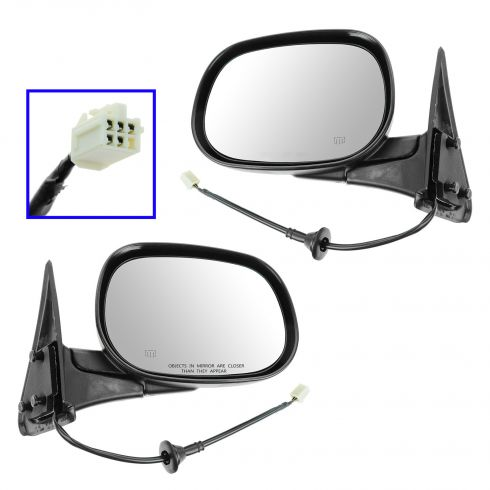 1998-02 Dodge Ram Pickup Power Mirror Heated Pair