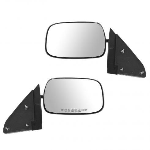 1988-00 Chevy GMC CK Series Pickup Tahoe Yukon Suburban Manual Mirror Pair