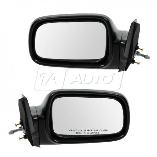 1989-91 Honda Civic 3dr man remote Mirror Pair