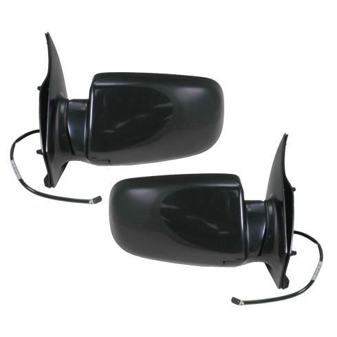 1988-98 GM Astro Safari Black Power Mirror Pair