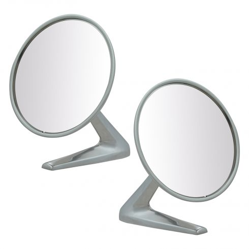 Pontiac Chrome Outer Mirror Pair
