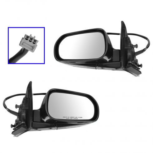 1999-02 Honda Accord Mirror Folding Power Pair for Sedan
