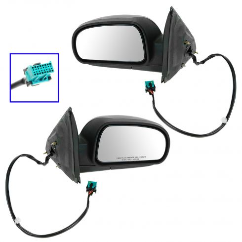 02-06 Chevy Trailblazer Power Heated Mirror Pair