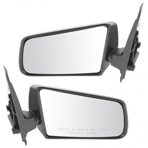 1985-94 Sail Type Black 3 x 5 Manual Mirror pair