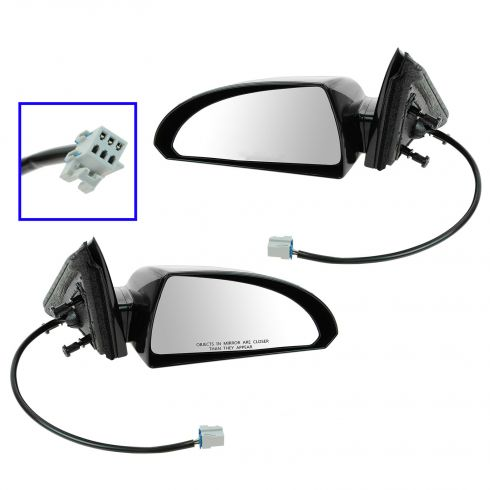 06-07 Chevy Impala No Heat Power Mirror Pair