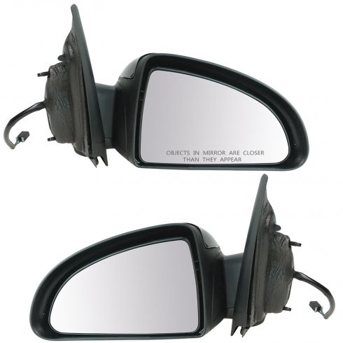 Chevy Cobalt Mirror Power Black for 2dr Coupe LH