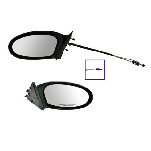 Mirror Manual Remote LH