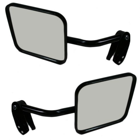 Mirror MANUAL (Black) PAIR