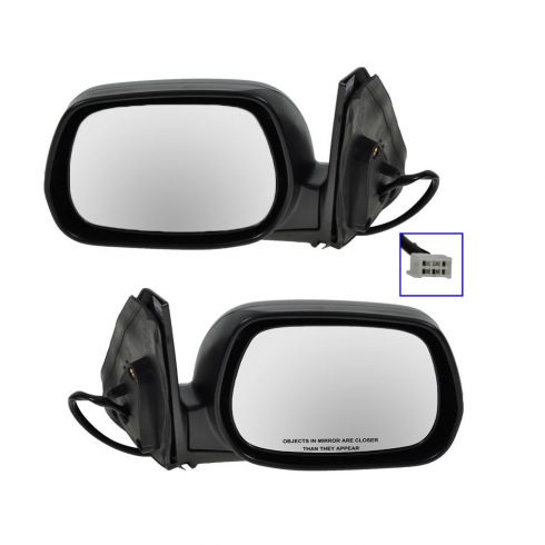 Power Heated Mirror Driver Side