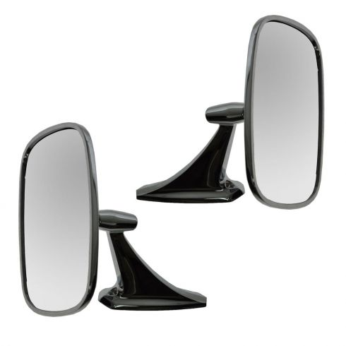 Chrome Manual Mirror PAIR