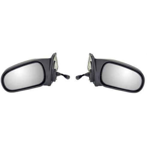 1996-00 Honda Civic Sedan Manual Remote Mirror PAIR