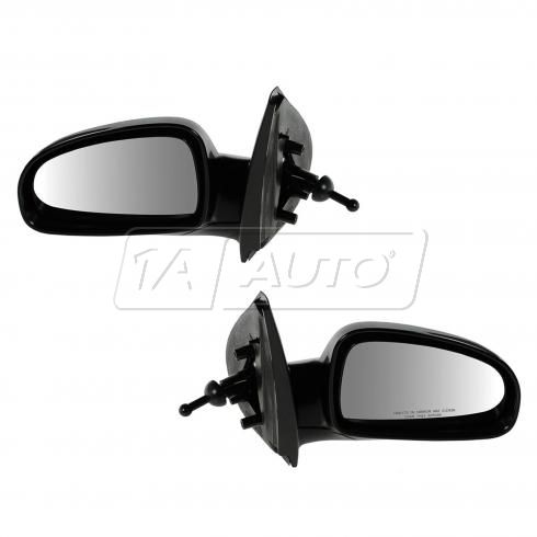 04-08 Chevy Aveo, Suzuki Swift Manual Remote Mirror PAIR