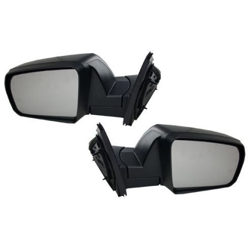 2007-09 Toyota Tundra; 2008-09 Sequoia Mirror Manual w/Smooth Blk Cap PAIR