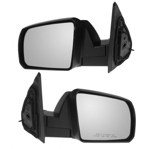 Mirror MANUAL with Chrome Cap PAIR