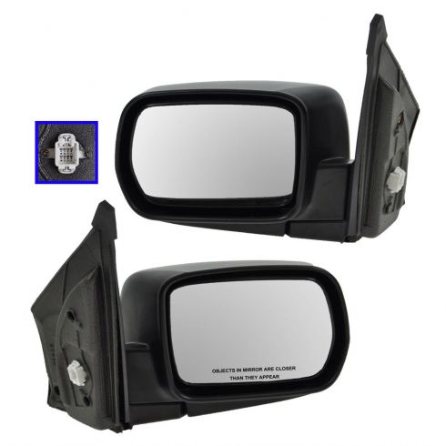 Mirror Power Heated Folding Pair