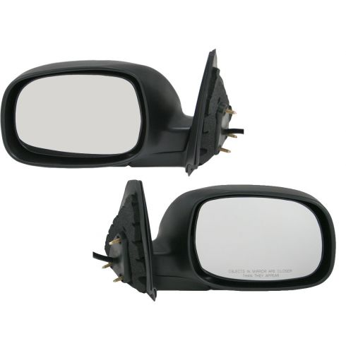2004-06 Toyota Tundra Double Cab Power Heated w/Chrome Mirror PAIR