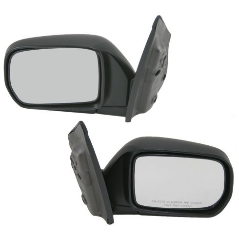 99-04 Honda Odyssey Mirror Manual Folding for Base Model Pair