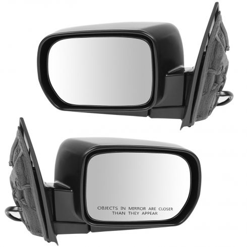 02-06 Acura MDX Mirror Power Heated Folding with memory Touring Package Pair