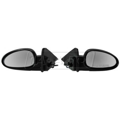 00-02 Daewoo Nubria Sedan Wagon Mirror Manual Remote Folding Pair
