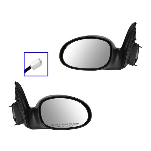 04-09 Chrysler PT Cruiser Mirror Power Fixed Pair