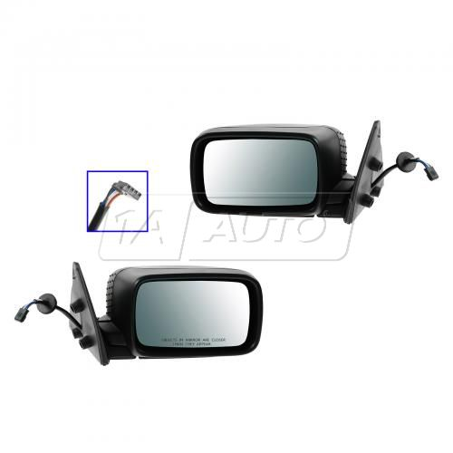 92-99 BMW 3 Series Folding Power Non Heated Mirror Pair
