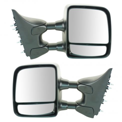2004-10 Nissan Titan XE Manual Txt Cap Tow Mirror PAIR