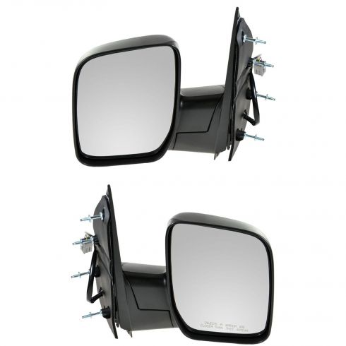 2007-08 Ford Van Pwr Mirror w/Single Glass PAIR