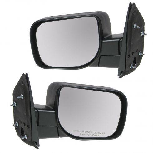 04-10 Nissan Titan XE Manual Txt Cap Std Mirror PAIR