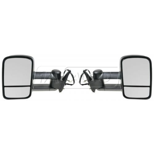 88-00 Chevy C/K PU SUV Suburban Power Towing Mirror Pair (Upgrade)
