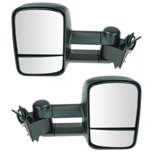 98-00 Chevy GMC SUV Suburban Power Heated Towing Mirror Pair (Upgrade