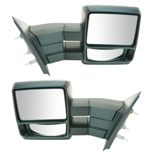 04-11 Ford F150 Manual Textured Tow Mirror (Upgrade) PAIR
