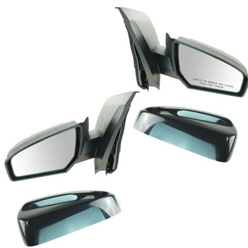 07-11 Nissan Sentra Power Mirror Black PAIR