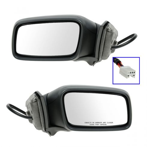 00-04 Volvo S40 Power Heated Mirror PAIR