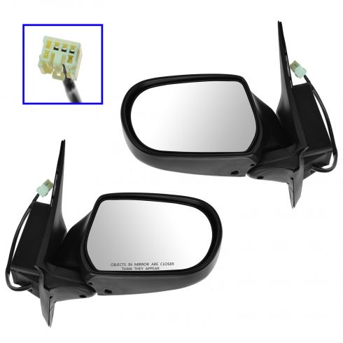 01-07 FORD Escape; 05-07 Mariner, blk (folding) Pwr Mir PAIR