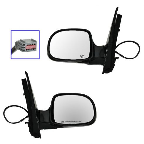 01-02 FORD Windstar, blk (folding) Htd Pwr Mir PAIR
