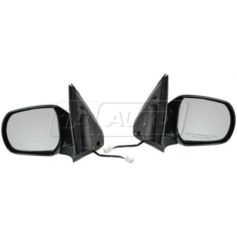 01-02 MAZDA Tribute, blk (folding) Pwr Mir PAIR
