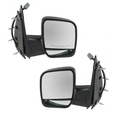 02-07 Ford Van Dual Mirror Pwr w/Pdl Lt 4 Mnts PAIR