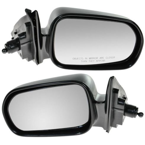 98-02 Accord 4dr Manual Remote Non Folding Mirror PAIR