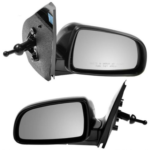 07-11 Chevy Aveo Sedan Manual Remote PTM Mirror PAIR